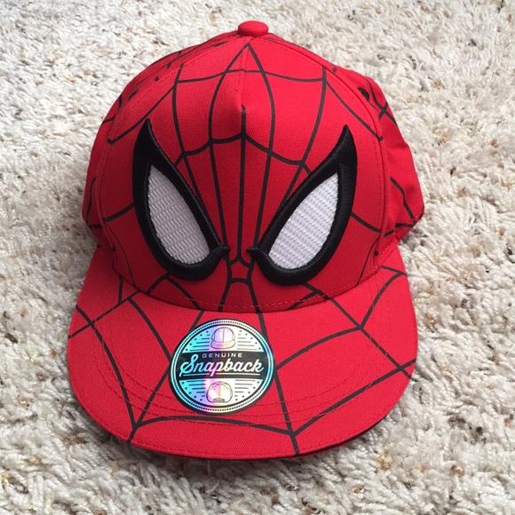 Marvel Other - Boys Marvel Spider-Man adjustable hat
